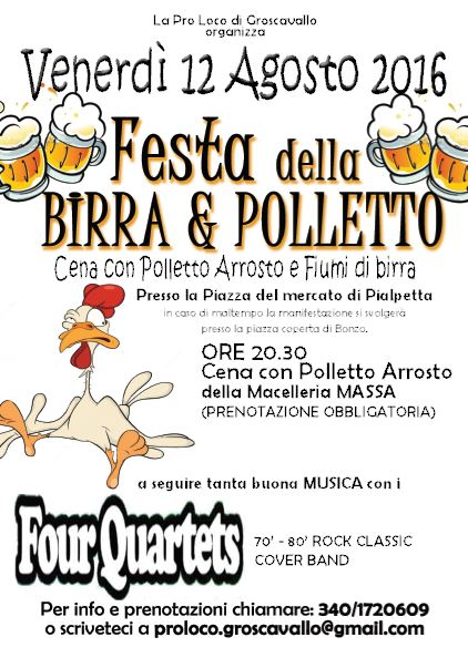 birra e polletto